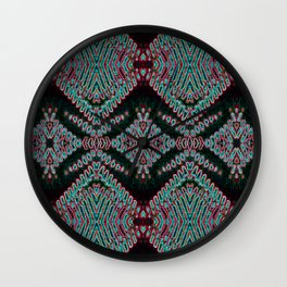 Electric Lace Wall Clock