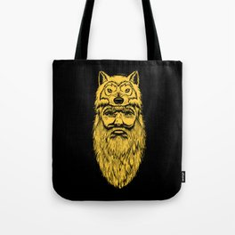 Trapper Wolf Man by www.turbobambi.com Tote Bag