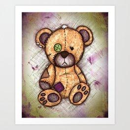 Brenda the Bear Art Print