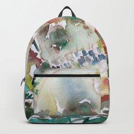 SKULL AND MUSHROOMS Backpack