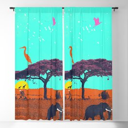 AFRICA VIBES Blackout Curtain