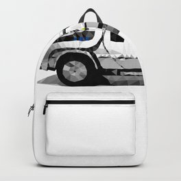 Delorean Low poly Backpack