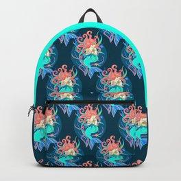 Crazy Mercat Lady Backpack