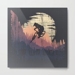 Ride The Trails Metal Print