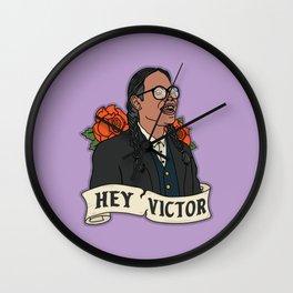 Smoke Signals - Hey Victor Wall Clock