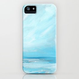 Resurgence - Stormy Ocean Seascape iPhone Case