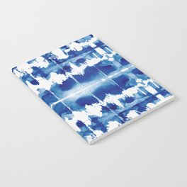 Shibori Tie Dye Indigo Blue Notebook
