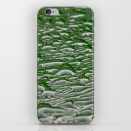 Abstract pattern made from rain droplets. iPhone Skin