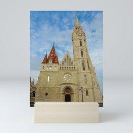 Matthias Church Mini Art Print