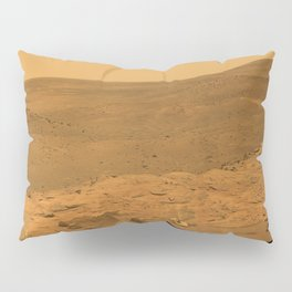 Panorama of Mars from Columbia Hills range inside Gusev Crater Pillow Sham