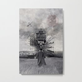 New point of view ... Metal Print