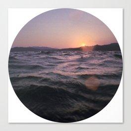 Turkish Sunset Canvas Print