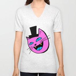 Herro Cat Unisex V-Neck