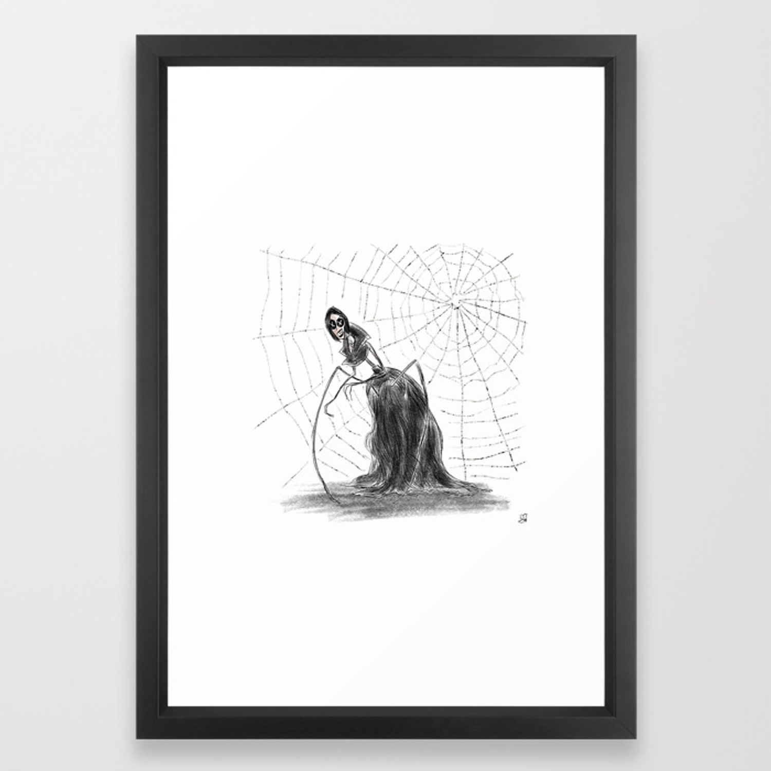 Coraline The Other Mother Framed Art Print By Hollydoesart Society6