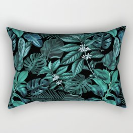 Tropical Garden Rectangular Pillow