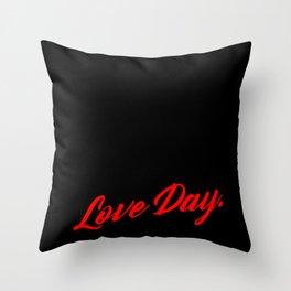 Anti Christmas Day Love Ugly Christmas gift Throw Pillow