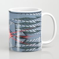 the office Mugs featuring Star office by Cozmic Photos