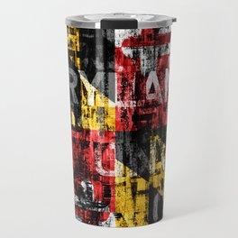 Maryland Flag Print Travel Mug