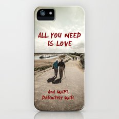 all you need is wifi iPhone (5, 5s) Slim Case
