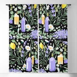 Aromatic Vibes Blackout Curtain