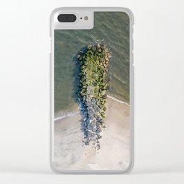 Undefined Jetty Clear iPhone Case