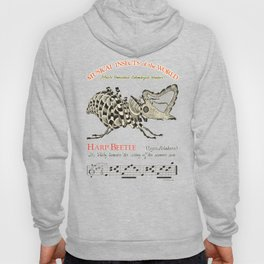 Chris Kluge's  Musical Insects of the World       HARP BEETLE   Lyras Melodicus Hoody