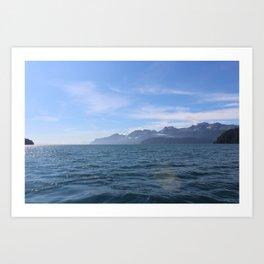 Seward, Alaska Art Print