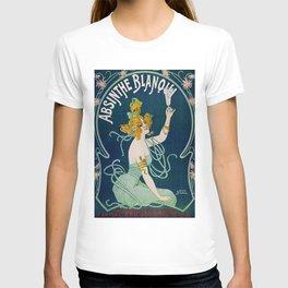 Vintage Absinthe Blanqui Ad T-shirt