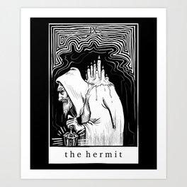 IX The Hermit Art Print
