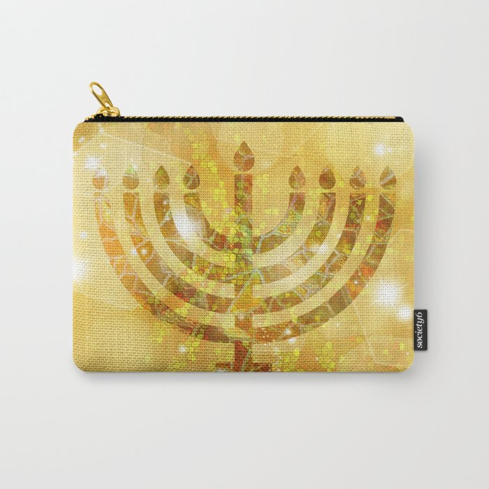 Hanukkah, the Festival of Lights Carry-All Pouch