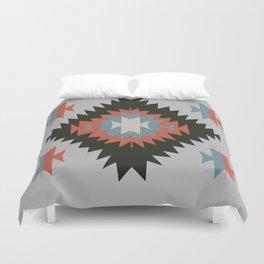 Southwestern Santa Fe Tribal Indian Pattern Duvet Cover