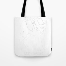 Norwegian-Elkhound-tshirt,-just-freaking-love-my-Norwegian-Elkhound Tote Bag