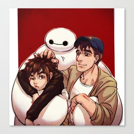 Big Hero 6  Canvas Print
