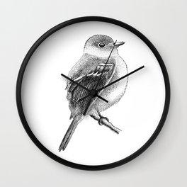 Empidonax The Bird Wall Clock