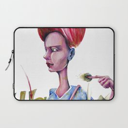 Red Moon that points eaten or spitted by the Symbolic Fish of Fate. Laptop Sleeve