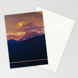 Sunrise - Glacier National Park Stationery Cards
