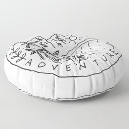 Seek Adventure Floor Pillow