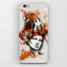 Tora by carographic, Carolyn Mielke iPhone & iPod Skin