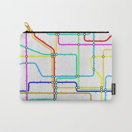 London Tube Underground Carry-All Pouch