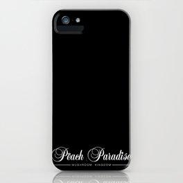 Logo Peach Paradise iPhone Case