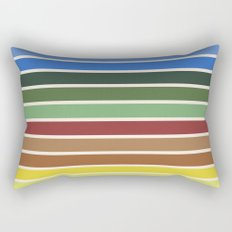 The colors of - Castle in the sky Rectangular Pillow