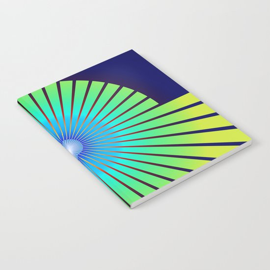 Geometric abstract 2016/004 Notebook
