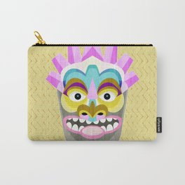Aloha Tiki Mask Carry-All Pouch