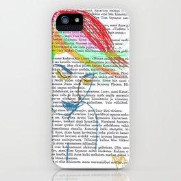 Rainbow Hair iPhone Case