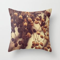 Autumn life Throw Pillow