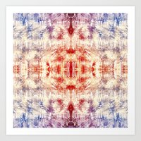 macaroon Art Prints featuring Macaroon Coso by Hannibal the Animal