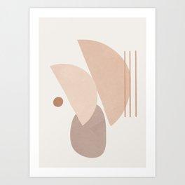 Abstract Shapes No.20 Art Print