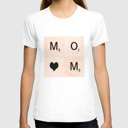 Gift for MOM Scrabble Tile Art - Mother's Day T-shirt