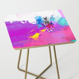 polo abstract Side Table