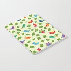 Birds pattern Notebook